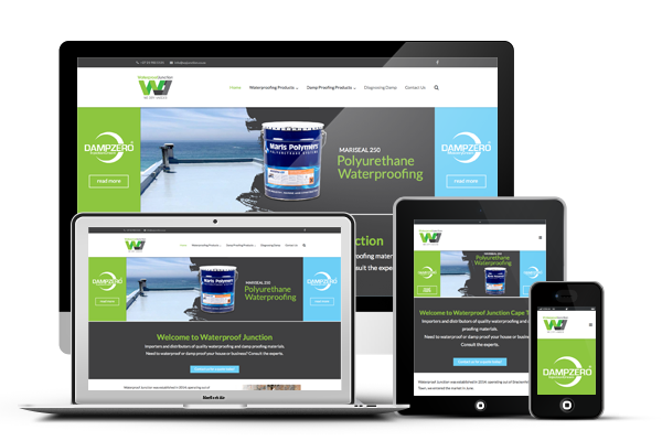 Waterproof Junction Responsive Website Design