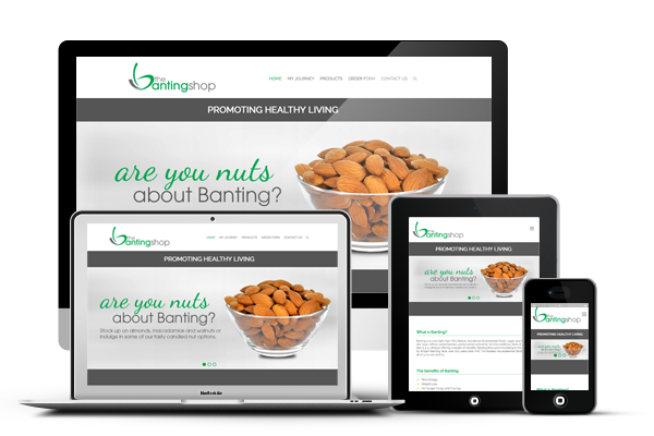 The Banting Shop - Responsive Website Design