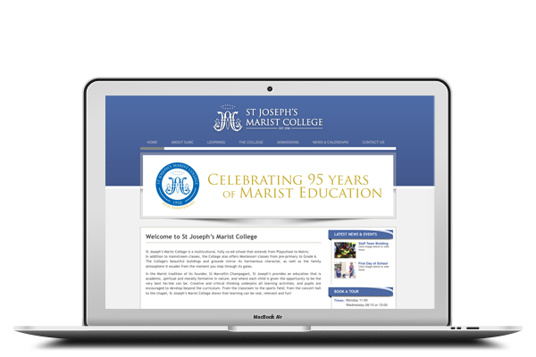 St Joseph's Marist College - Website