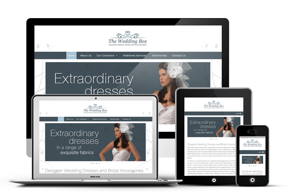 The Wedding Box Responsive Web Design