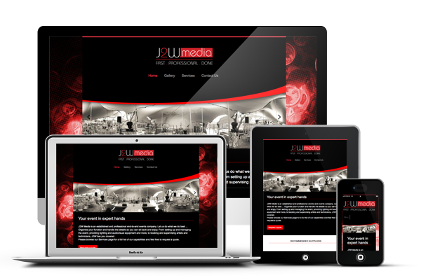 J2W Media - Responsive Website Design