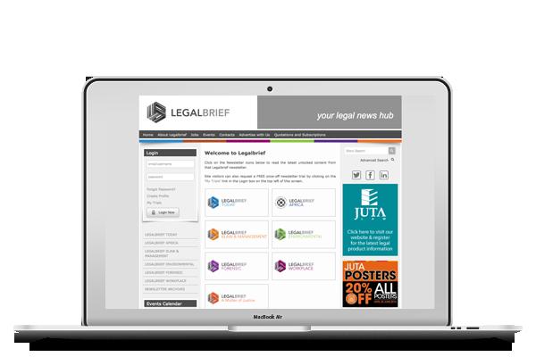 Legalbrief - Website Design