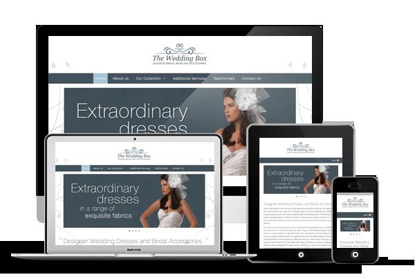 The Wedding Box Responsive Web Design
